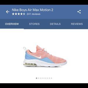 Nike Boys AirMax Motion 2✨